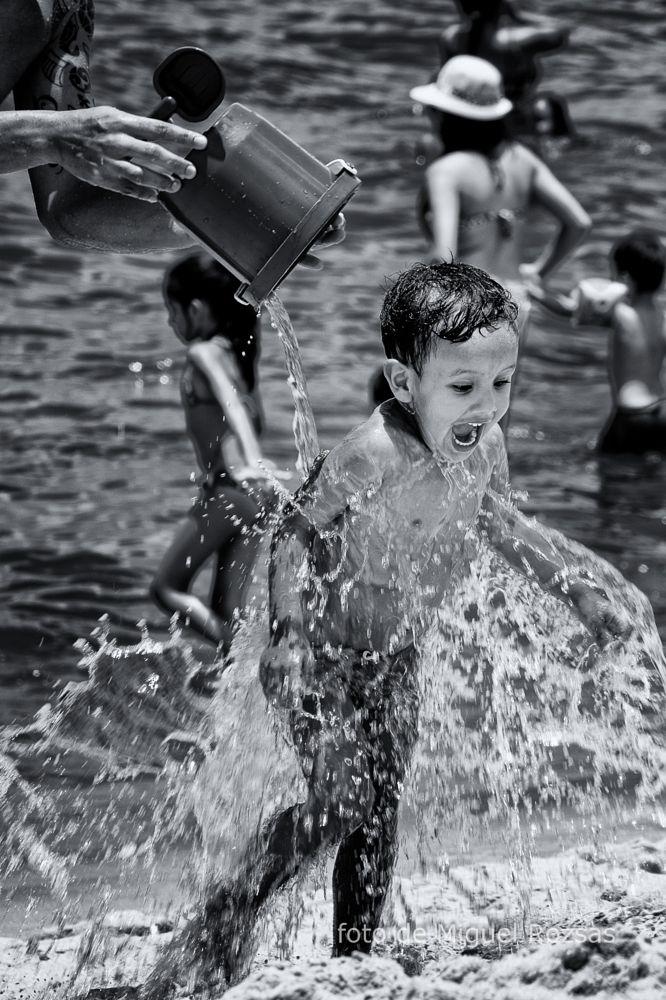 Photo in Travel #boy #beach #caring