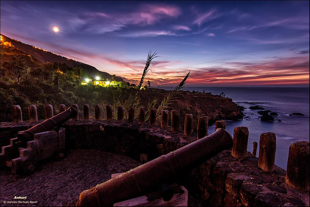 Photo in Landscape #guns #cañones #anhuri #sunset #night