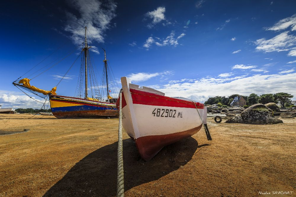 Photo in Landscape #france #bzh #brittany #bretagne #tregastel #voilier #sailsboat #sailboat