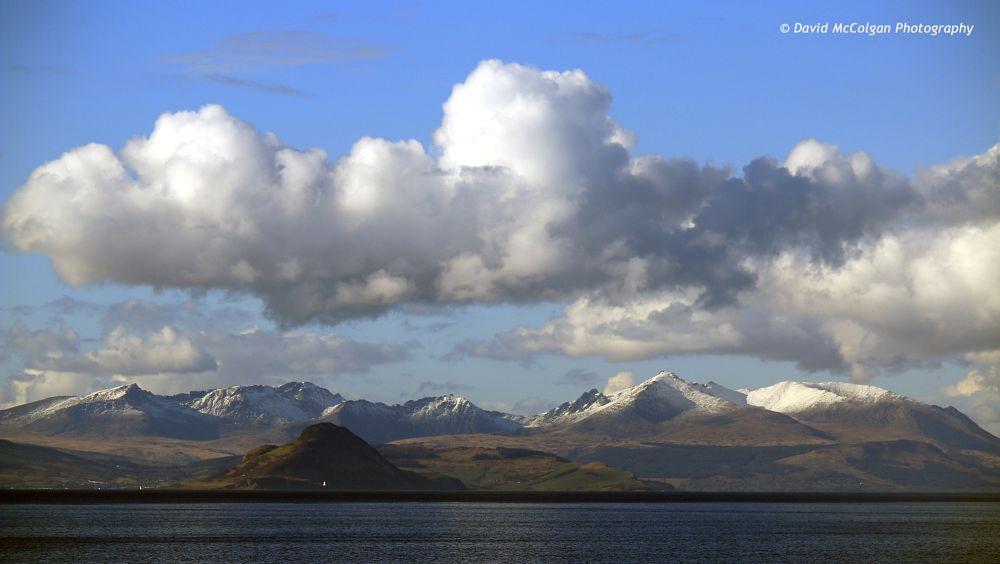 Photo in Landscape #arran clyde scotland ayrshire