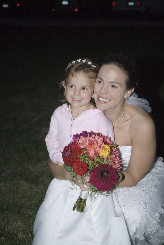 Photo in Wedding #wedding #bride #flower girl