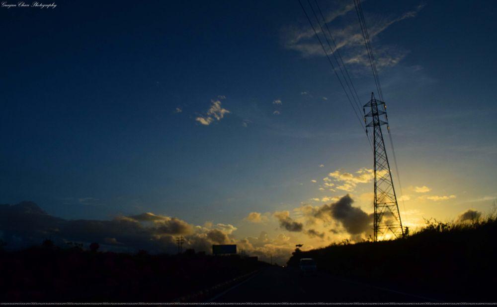Photo in Landscape #sunset #gunjanchariphotography #incrediblegoa