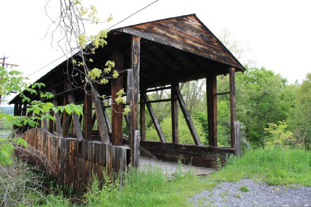 Photo in Rural #covered bridge #history #backintime #rural