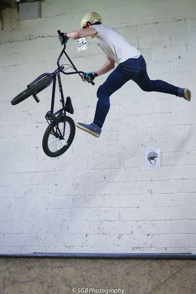 Photo in Sports #360 spin #barspin #bmx #jump #air #prime plymouth