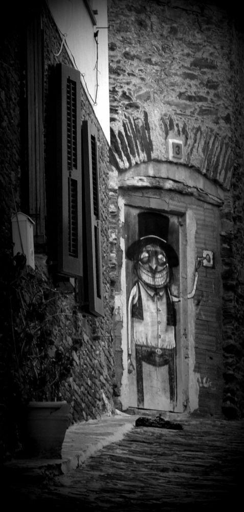 Photo in Black and White #costa brava #catalunya #cadaques #smile #somriure #sonrisa #lächeln