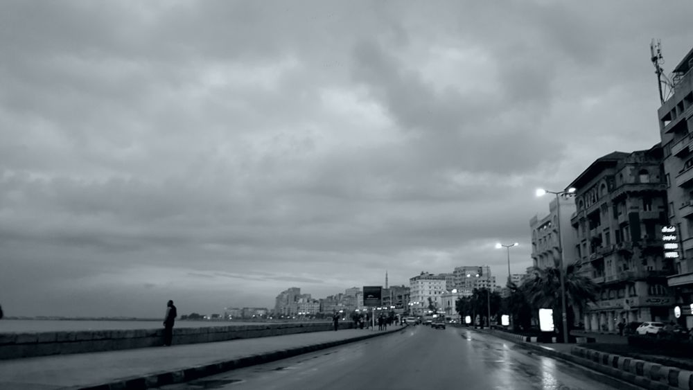 Photo in Random #streetphotography #mobilephotography #note5 #bnw #shore #clouds