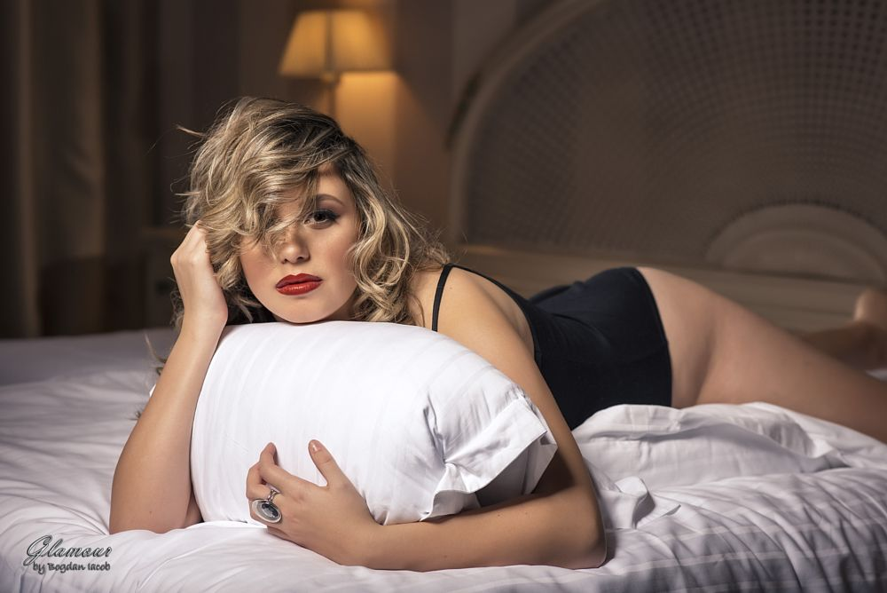 Photo in Portrait #glamour #boudoir #sexy #girl #young #woman #beauty #bedroom