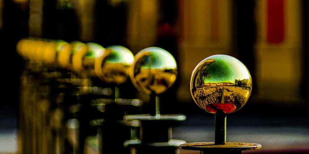 Photo in Random #artoftom #street #golden #balls