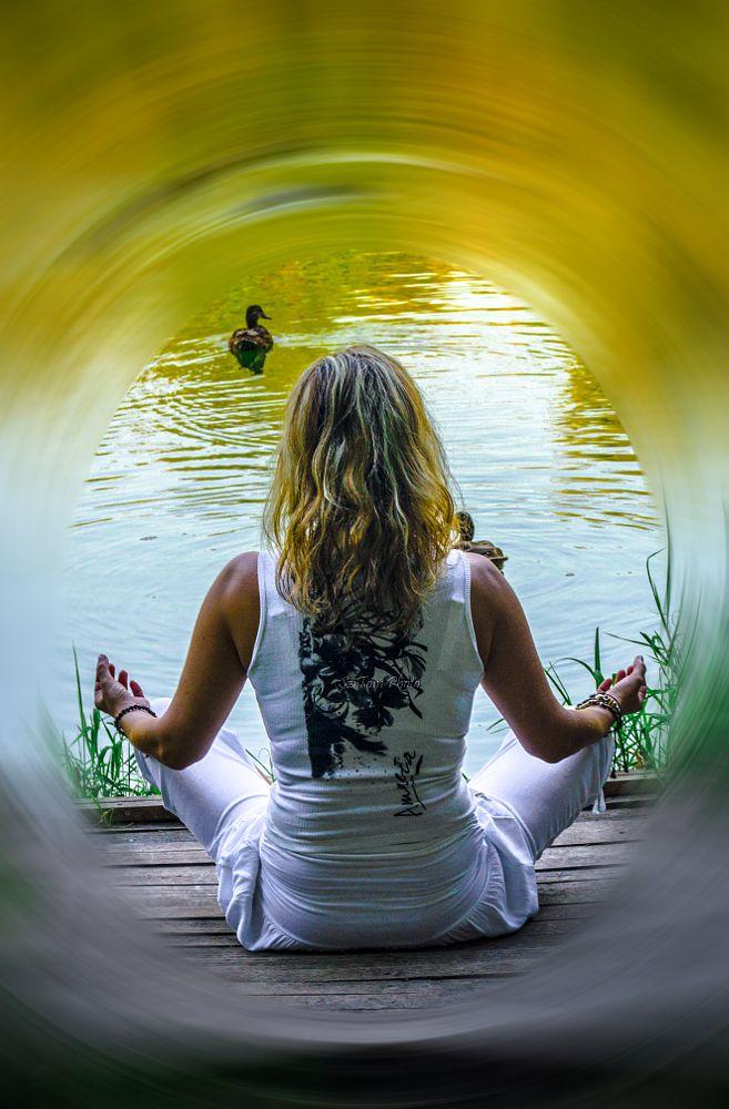 Photo in Random #artoftom #model #relax #meditation