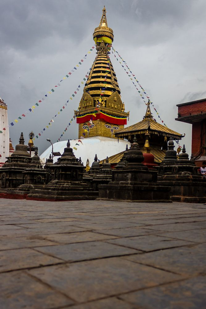 Photo in Travel #swayambhu #stupa #buddhism #religious #cultural #heritage #worldheritagesite #monkeytemple #temple #travel