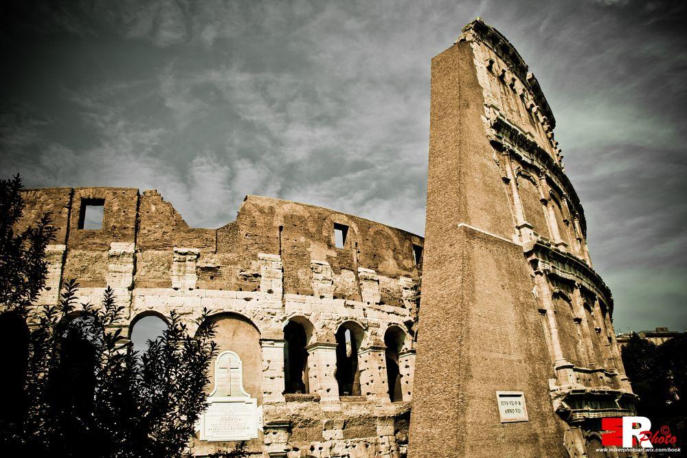 Photo in Cityscape #michele #rallo #michele #rallo #mr photoart #emmerrephotoart #colosseo #colosseo #colosseum #coliseum #roma #rome #roma #rome #italy #italy #travel #viaggio #tourist #tourism #monument #monuments #monumento #storia #history