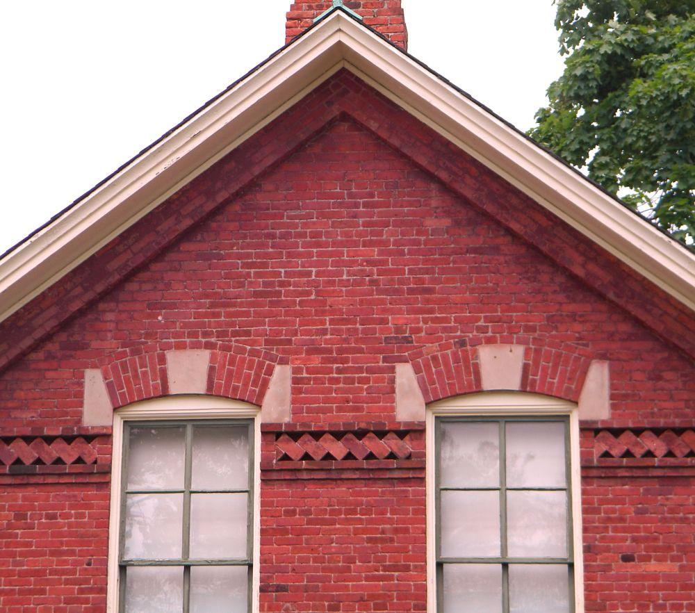 Photo in Architecture #mi #michigan #brick #building #greenfield #dearborn #village #historical