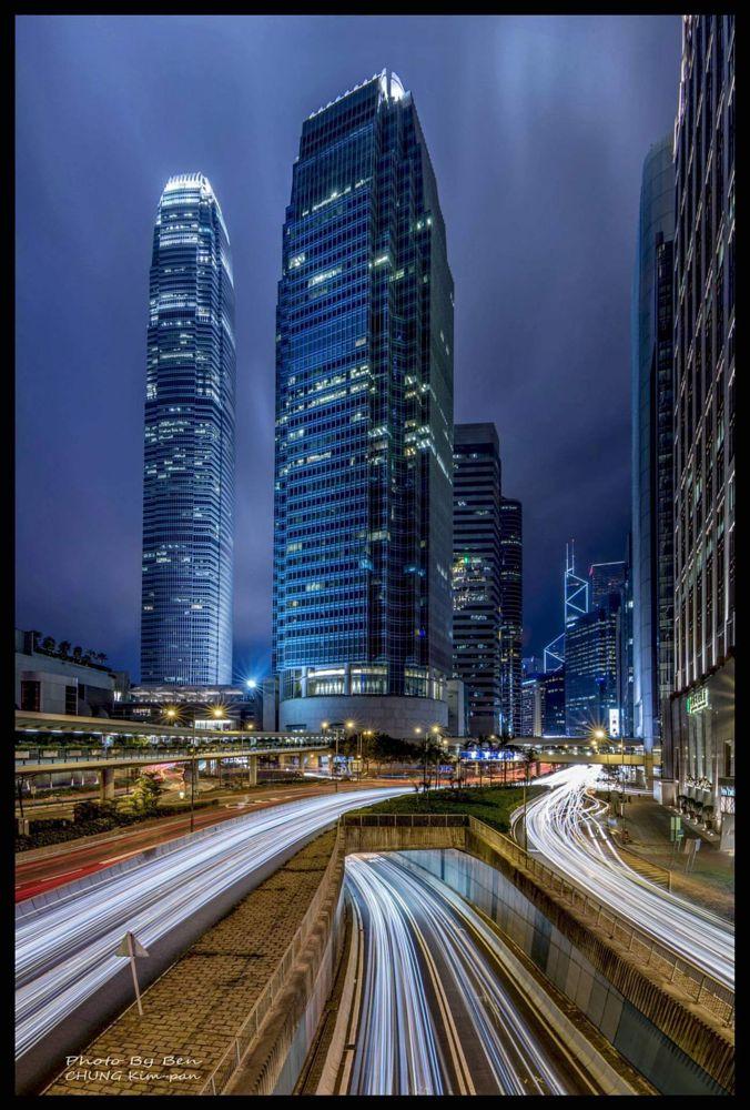 Photo in Urban #light #track #hong #kong