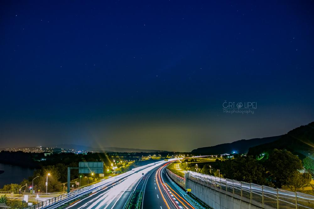 Photo in Landscape #road #sky #stars