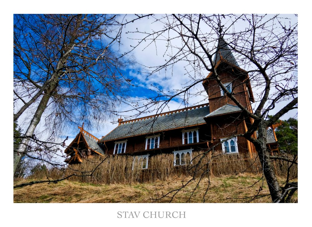 Photo in Architecture #norway #church #protestant church #stav church #wooden church