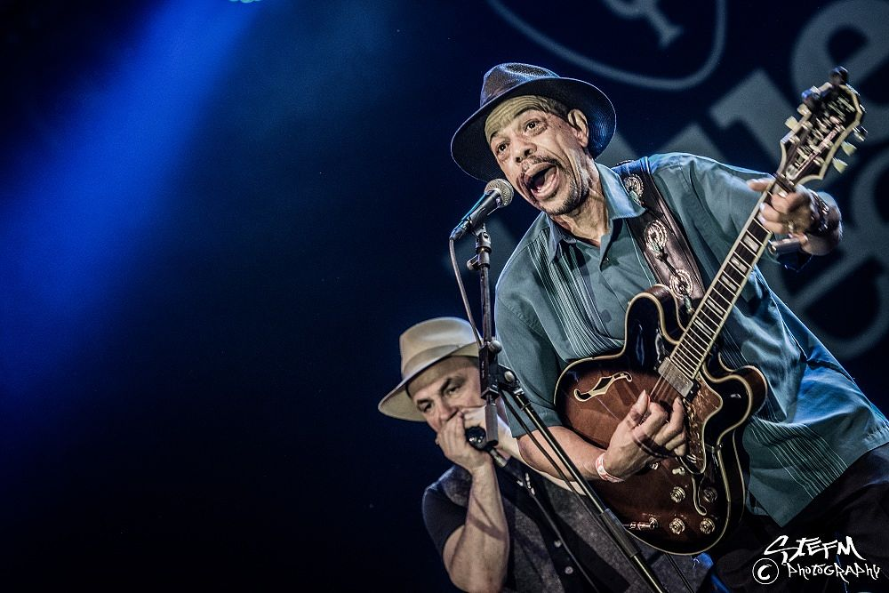 Photo in Concert #john primer #roots music #blues #concert photography #music #gig #music photography