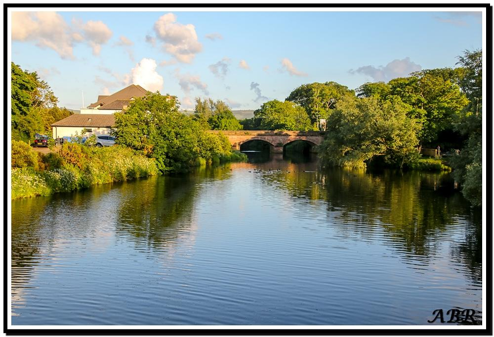 Photo in Landscape #bridge #water #river #lagoon #house #building #trees