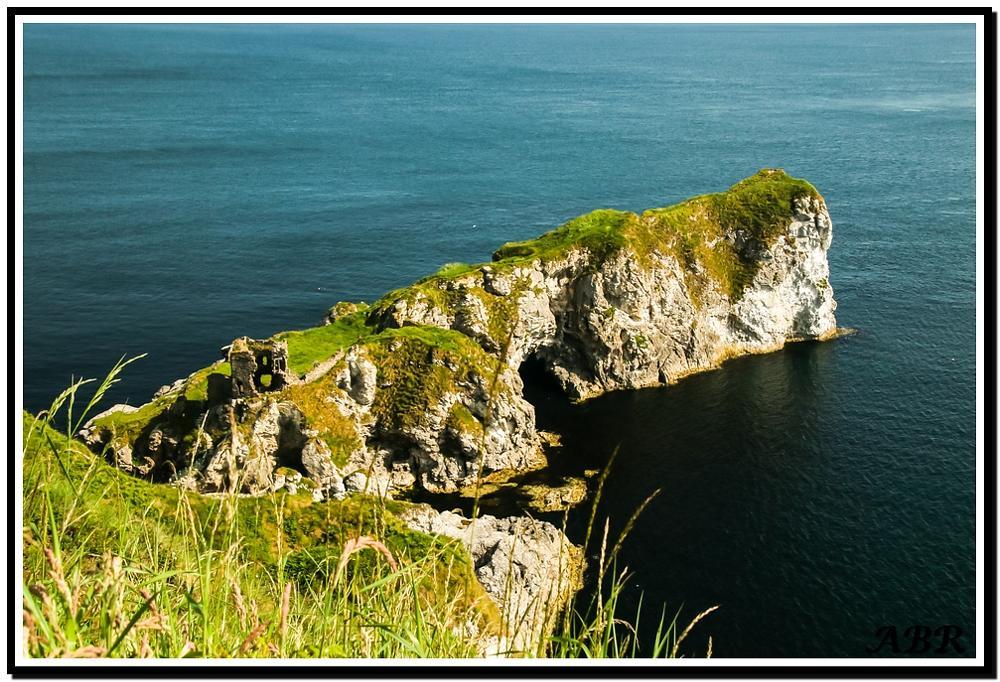 Photo in Landscape #rock #sea #water #green #arch