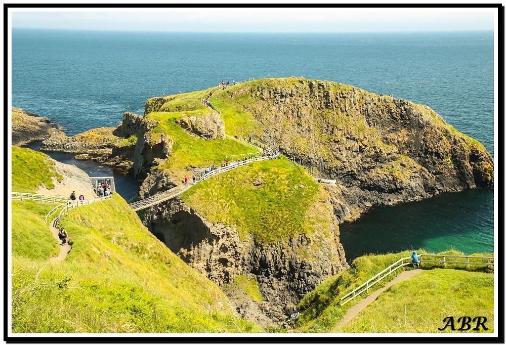Photo in Landscape #bridge #water #sea #green #island #blue