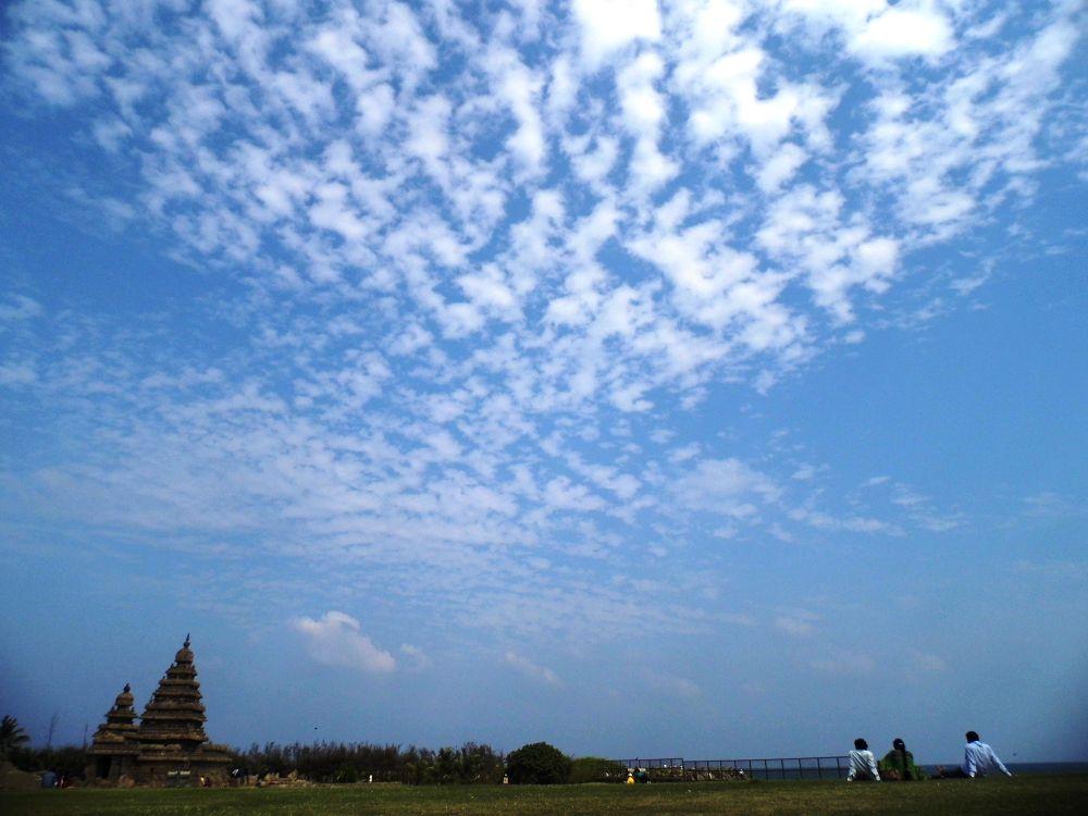 Photo in Landscape #sky #blue #seashore #clouds #landscape