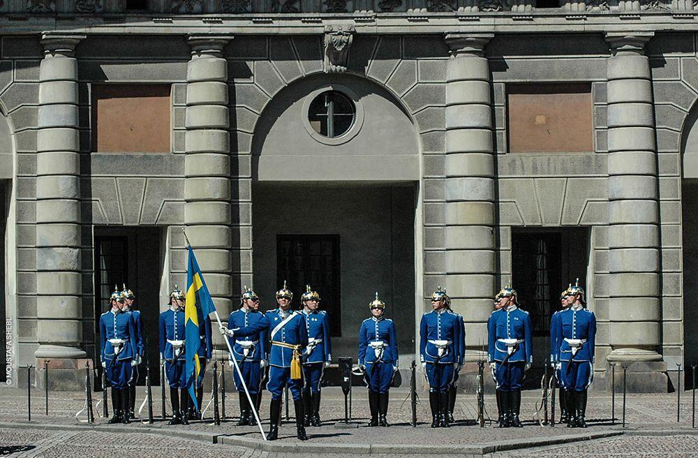 Photo in Travel #sweden #stockholm #swedish royal guards