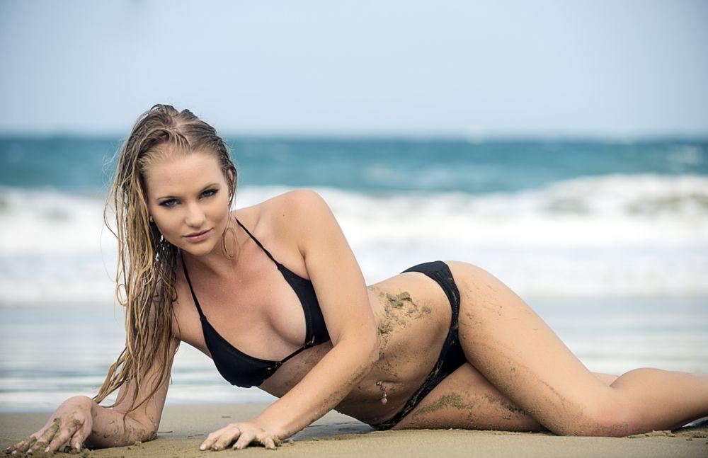 Photo in Sports #pangopangoswimwear #blonde #beach #swimwear