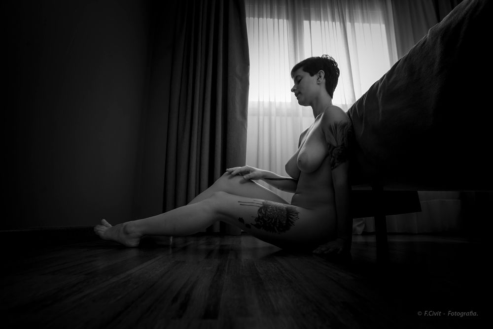 Photo in Nude #nude #erotick #bn #b&w