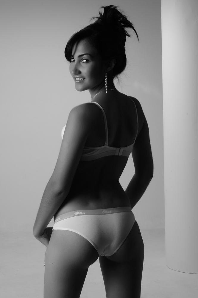Photo in Black and White #fashion