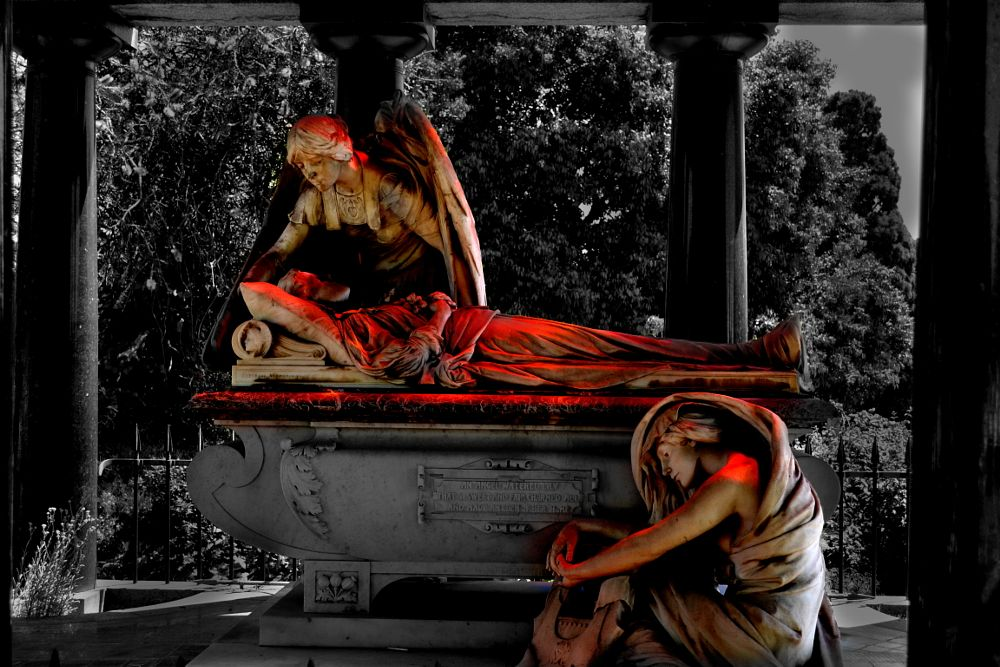 Photo in Random #goth #dark #cemetery