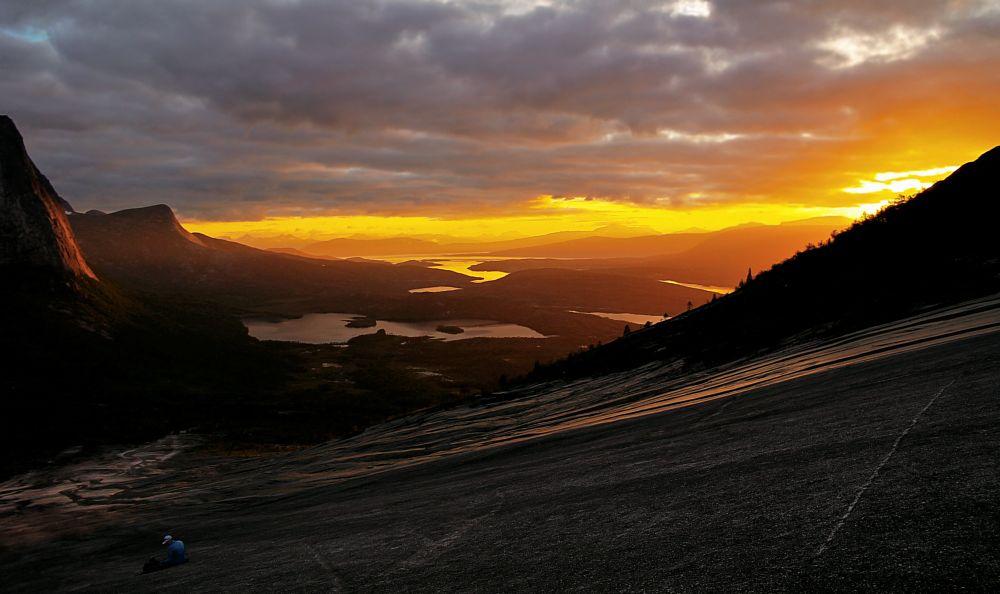 Photo in Landscape #flågan #efjord #ballangen #midnight sun
