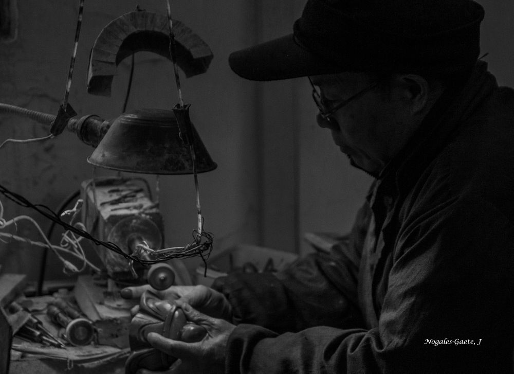 Photo in People #handicraftsman #black and white