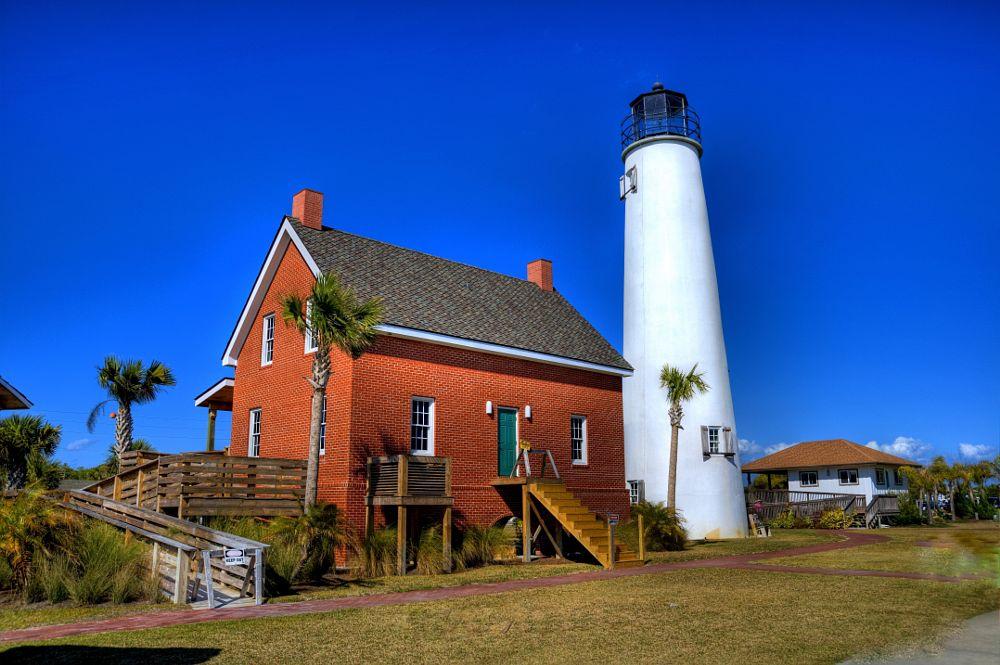 Photo in Landscape #lighthouse #cape st. george #florida