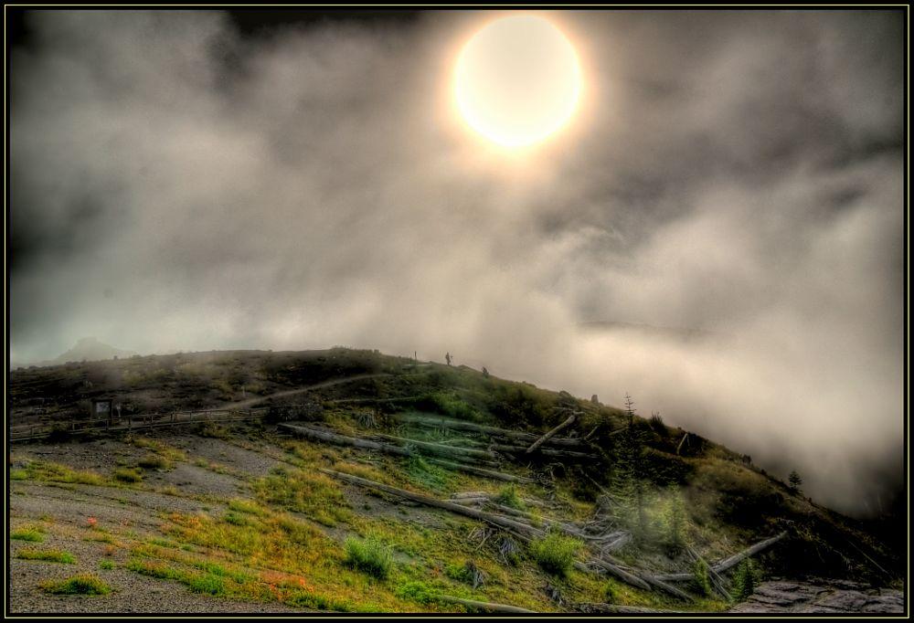 Photo in Landscape #sunrise #mt.st. helen #devestation
