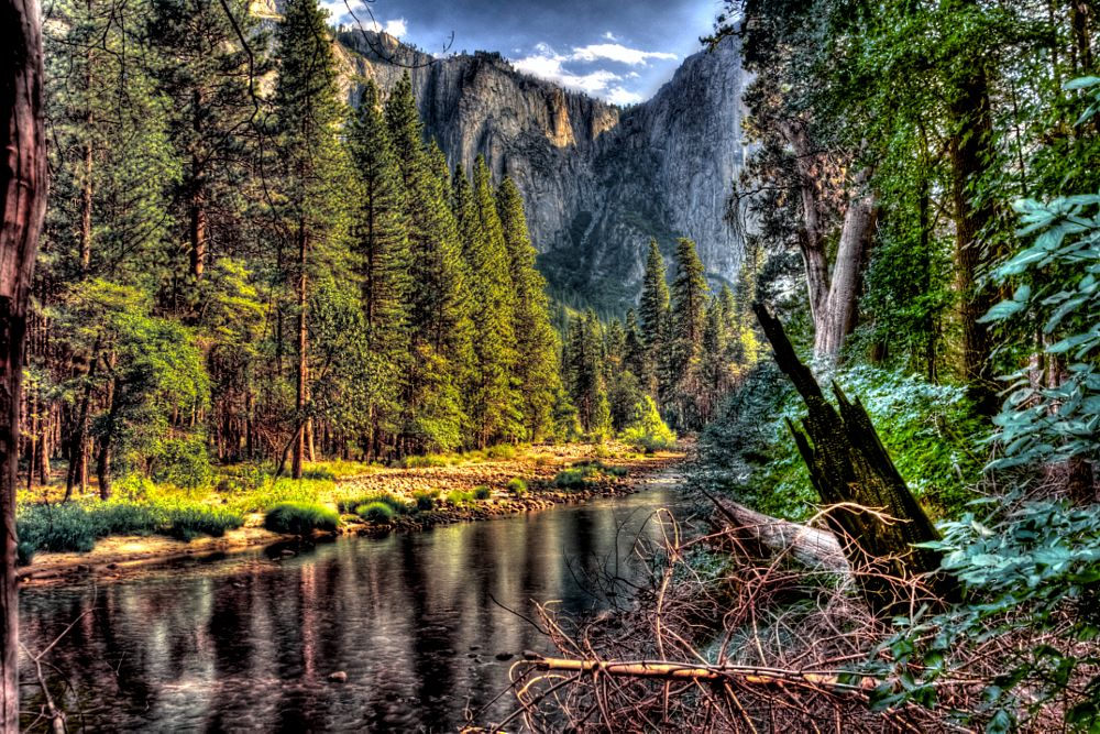 Photo in Random #beautiful vista #yosemite #river