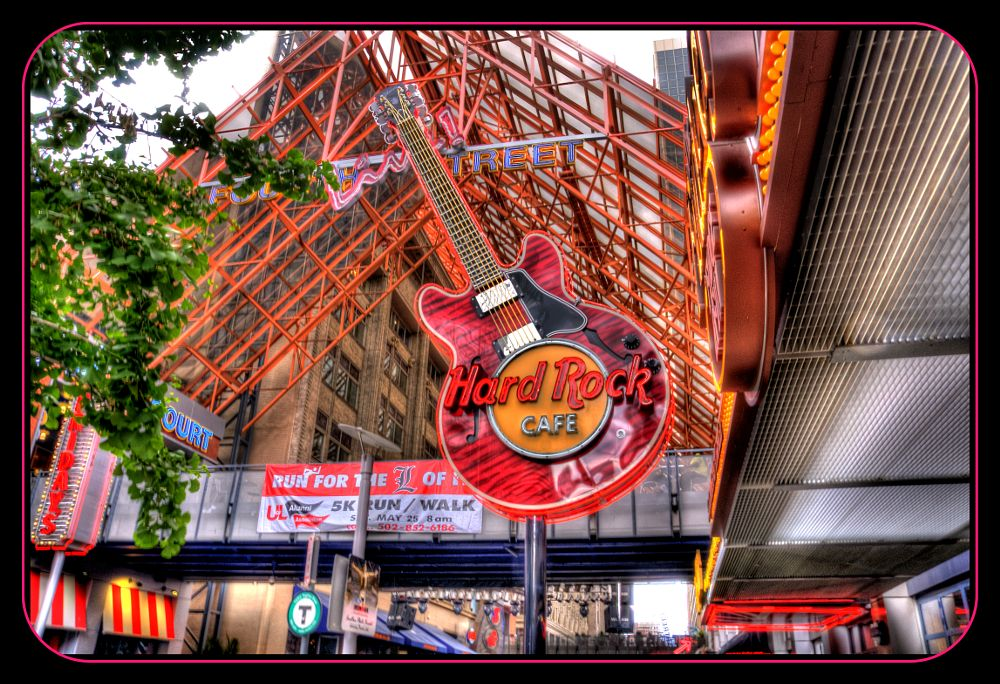 Photo in Architecture #hard rock #sign #hdr
