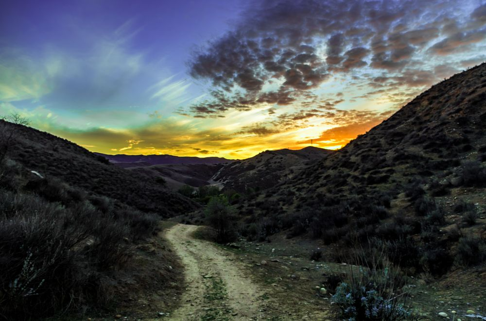 Photo in Landscape #sunset #hiking #nature #sky