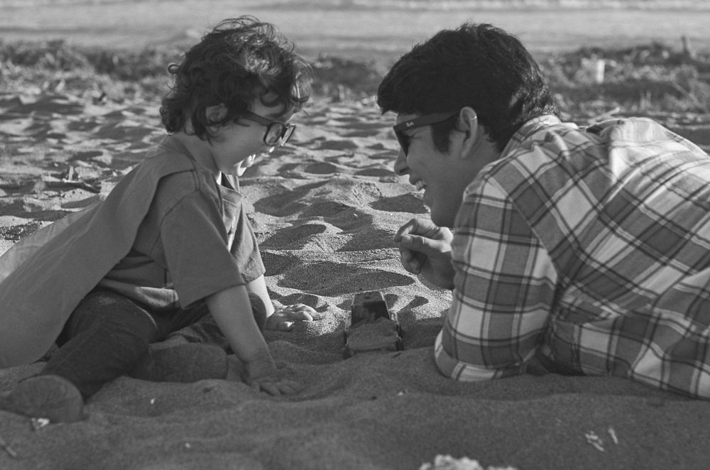 Photo in Family #amor #padre #hijo #arica #playa #chile