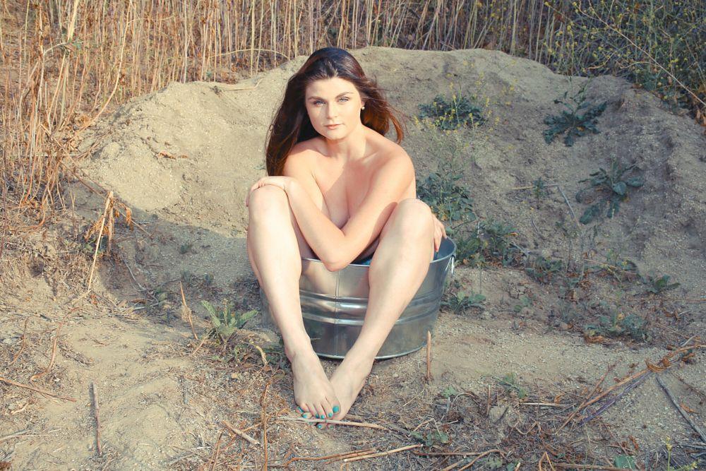 Photo in Portrait #implied #brunette #model