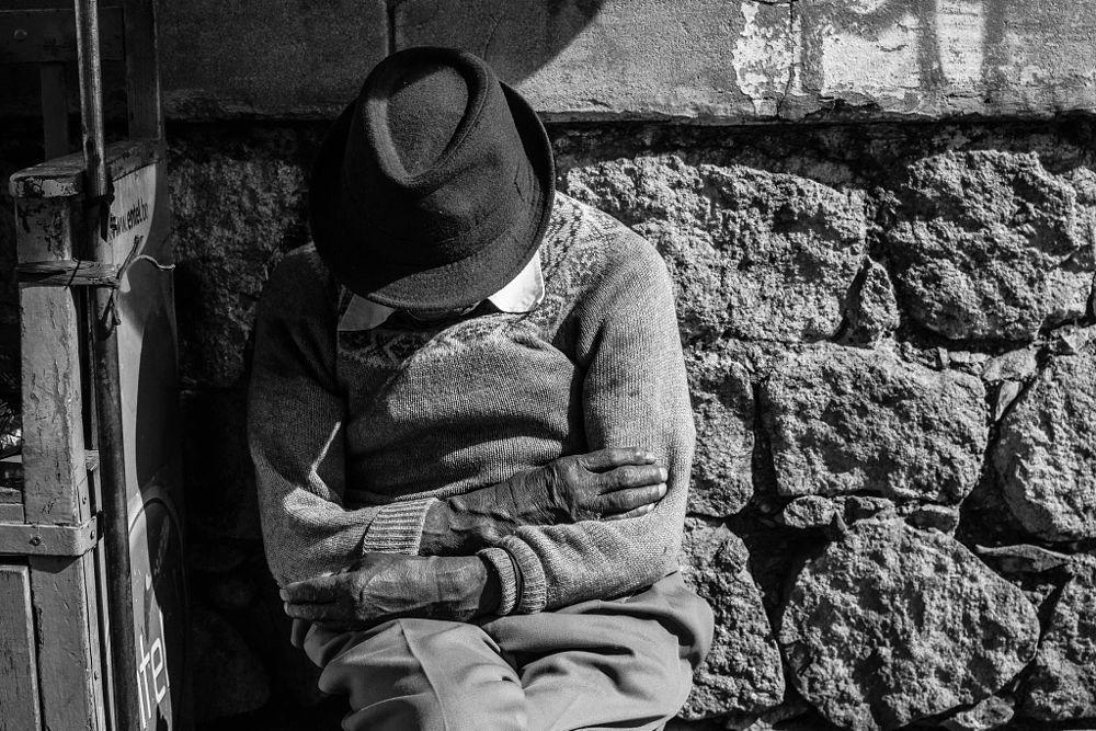 Photo in Street Photography #oldman #people #work #street