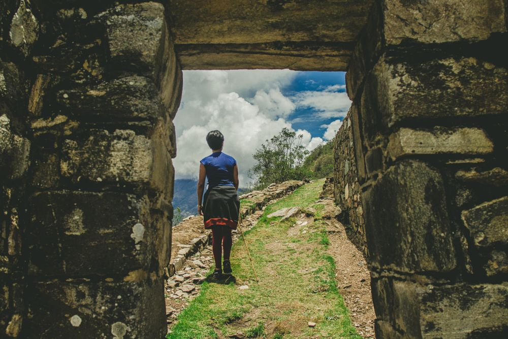 Photo in Travel #ruins #people #travel #trip #nature