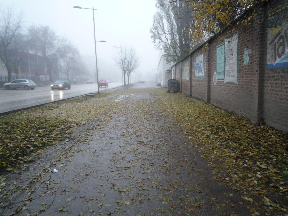 Photo in Cityscape #road #fog #fall