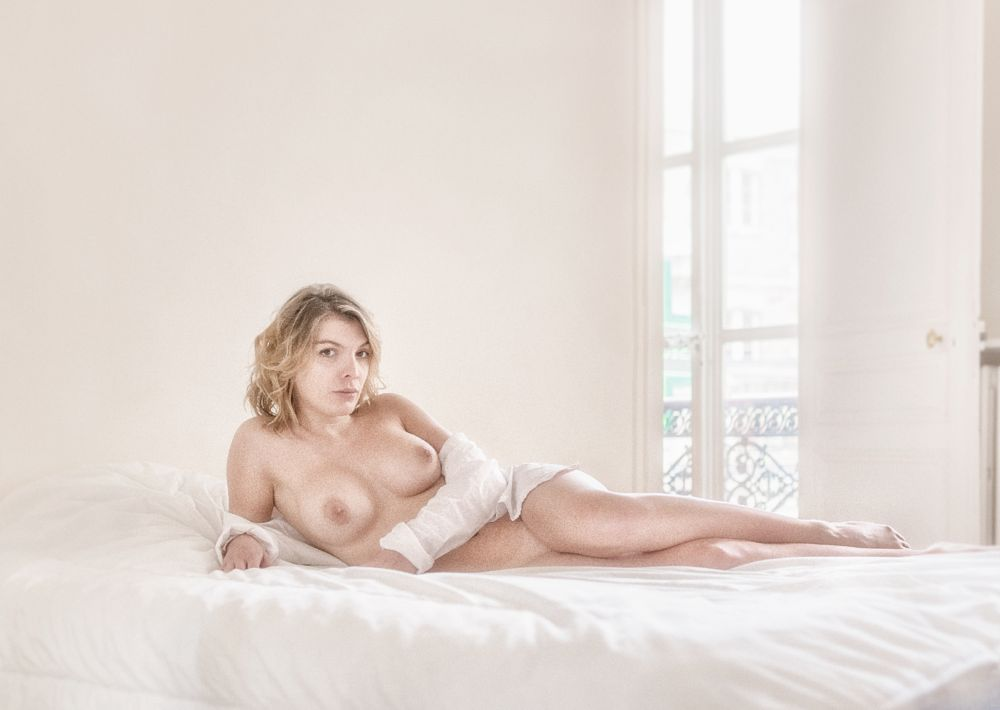 Photo in Nude #nu #paris #france #femme #female #young