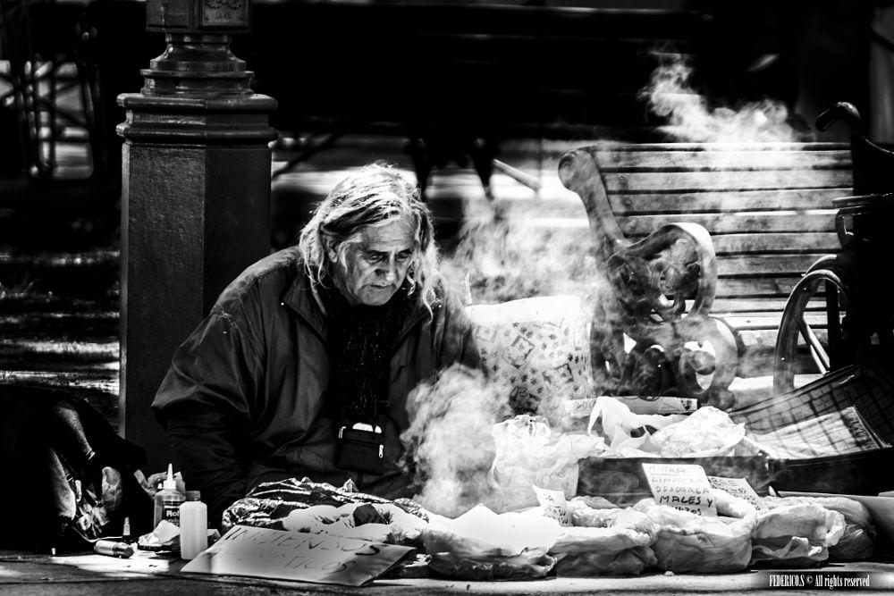 Photo in Random #black and white #street photography #urban exploration #magic