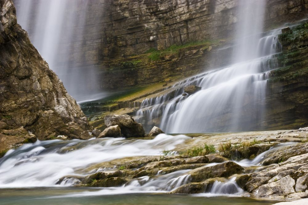 Photo in Landscape #waterfall #nature #landscape