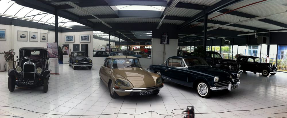 Photo in Industrial #car #auto #french #citroen #panorama