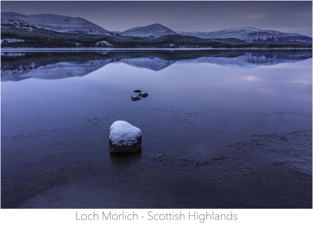 Photo in Landscape #scottish loch #aviemore #mountains #snow