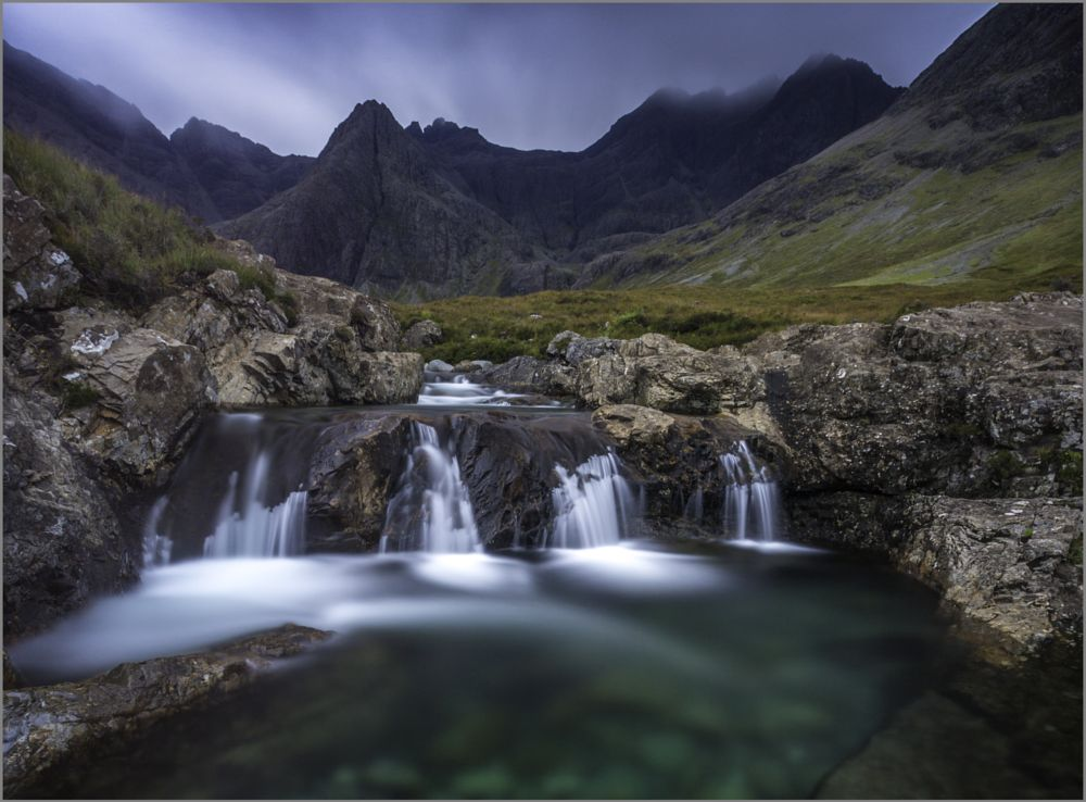 Photo in Landscape #fairy pools #isle of skye #scottish highlands #mountains #waterfall