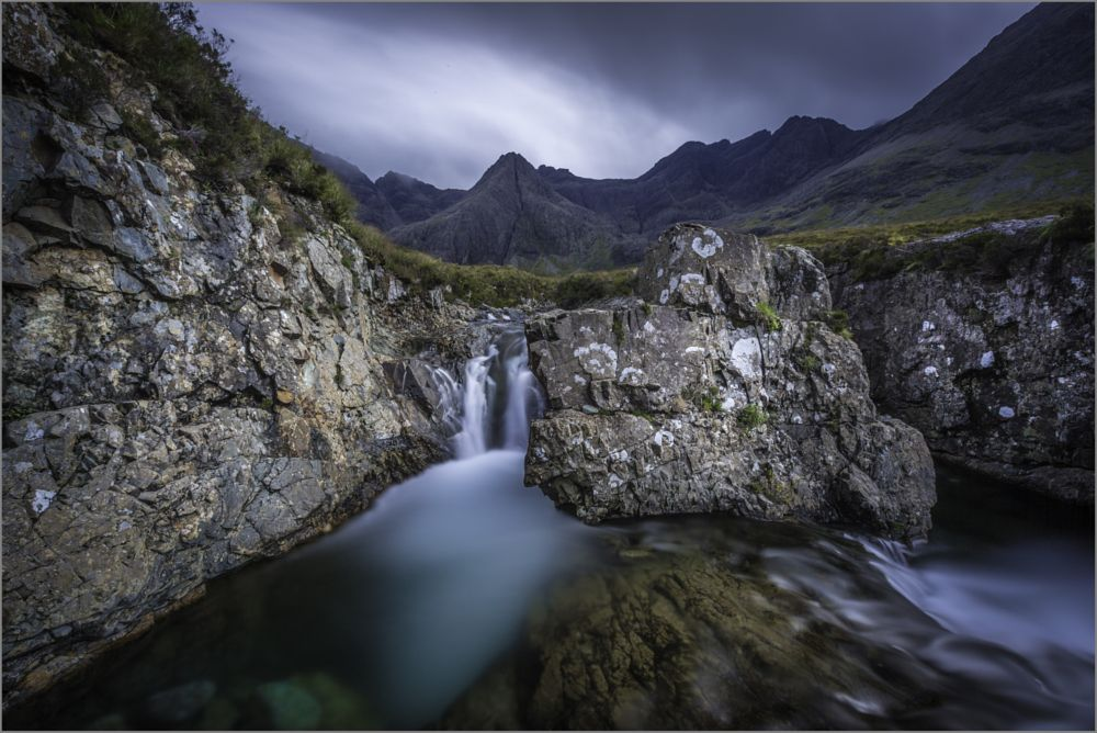 Photo in Landscape #fairy pools #isle of skye #scotland #scottish highlands #waterfall #moutains