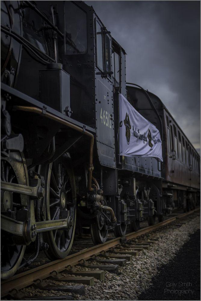 Photo in Random #train #scottish highlands #landscape