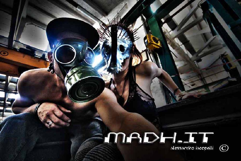 Photo in Random #post apocalyptic #cyberpunk #industrial